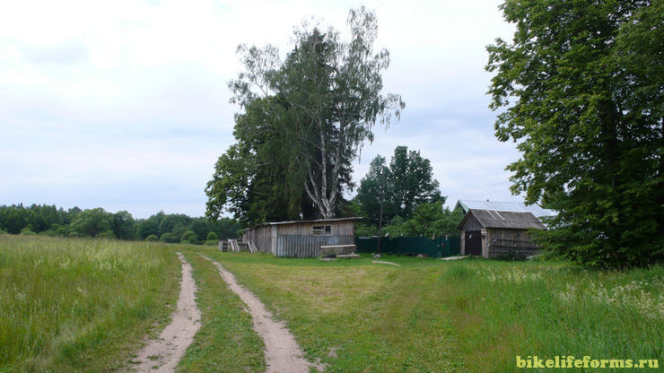 деревня на реке Шоша