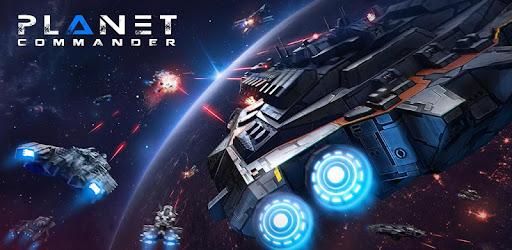 Planet Commander tirer au flanc Space galaxy pilot captures d'écran