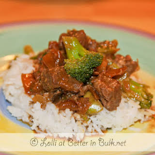 Crock Pot Beef and Broccoli.