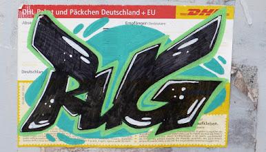 Photo: DHL-Sticker; RUG