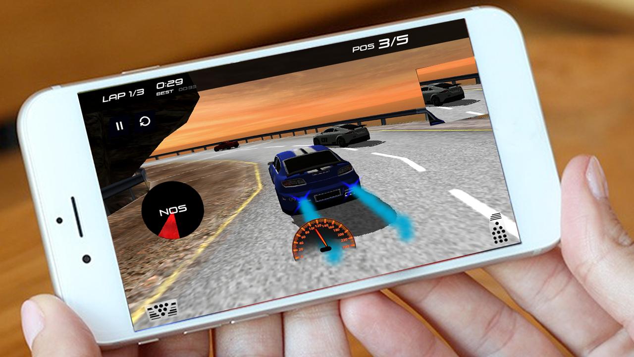 dream car racing screenshot