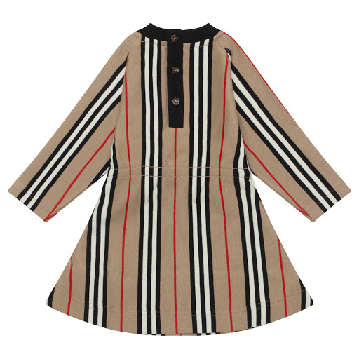 Thumbnail images of Burberry Baby Long Sleeved Dress