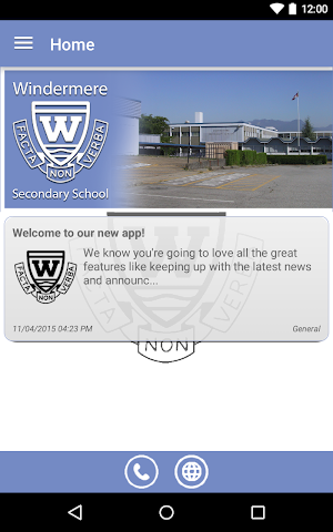 android Windermere Secondary Screenshot 3