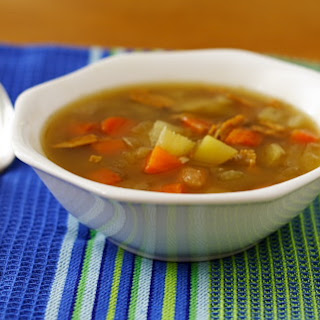 Chickenless Soup.