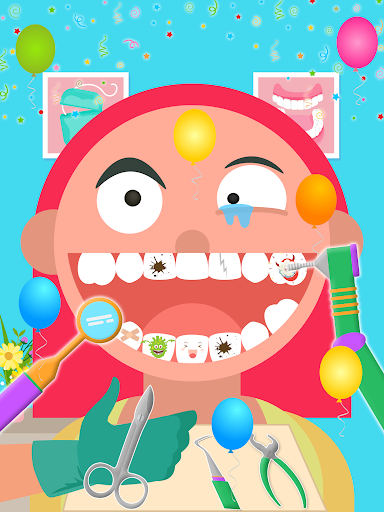 Kids Dentist; Kids Learn Teeth Care screenshots 22