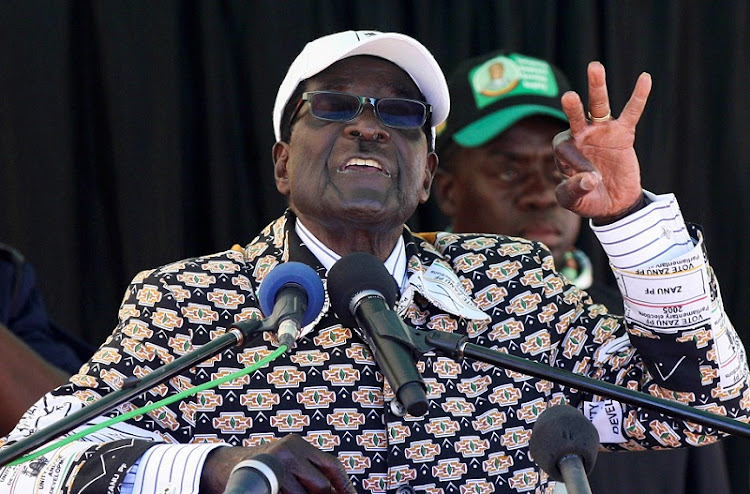 Zimbabwean President Robert Mugabe wants 'to restore' the death penalty. Picture: REUTERS