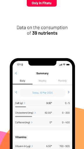 Fitatu Calorie Counter - Free Weight Loss Tracker screenshot 4
