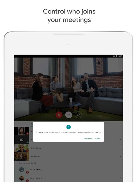Screenshot - Google Meet – Secure Video Meetings