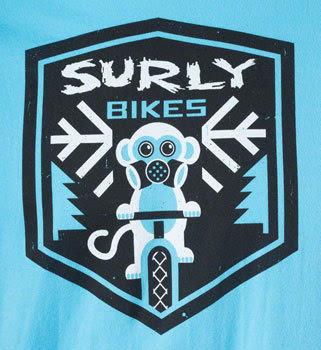 Surly Snow Monkey Men's T-Shirt alternate image 0