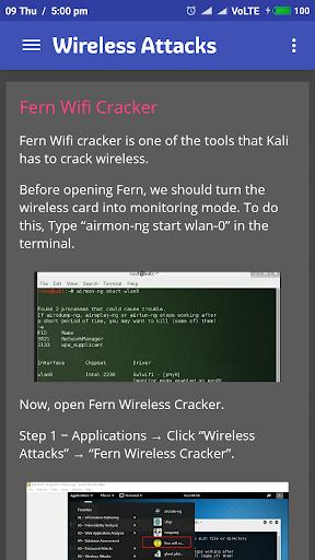 Learn Kali Linux 2.1 screenshots 8
