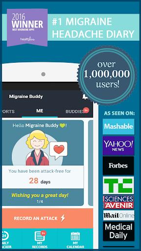 Migraine Buddy - The Migraine and Headache tracker 25.4.7 screenshots 1