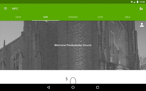 Memorial Presbyterian Church- screenshot thumbnail