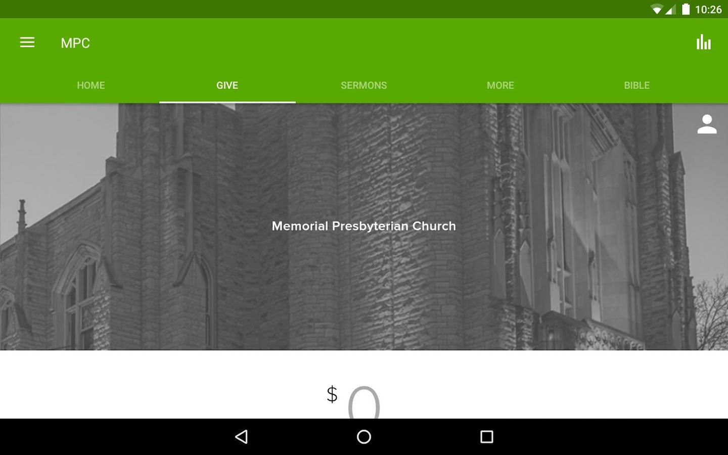 Memorial Presbyterian Church- screenshot