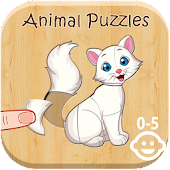Animal Puzzles for Kids 2