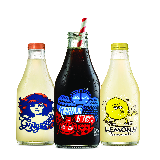 Karma Cola.... now available