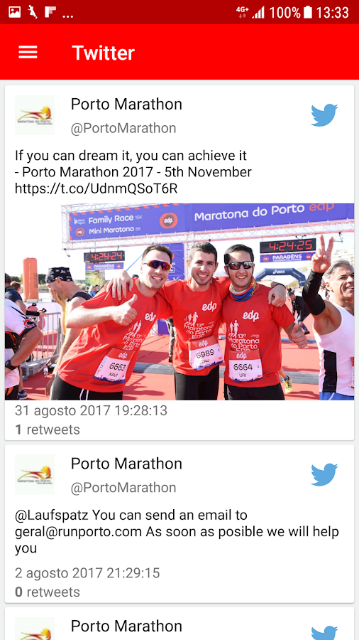 Maratona do Porto EDP- screenshot