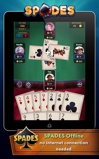 Spades - Offline Free Card Games modavailable screenshots 10