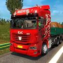 Euro Truck Driving Mega Trucks Simulator  2020 icon