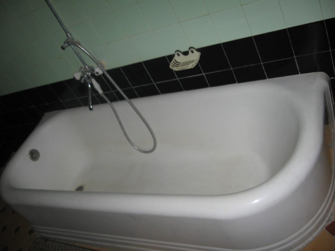 дача сталина ванна