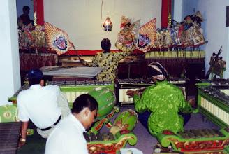 Photo: #024-Spectacles traditionnels de marionnettes et ombres chinoises-Yogyakarta-Java