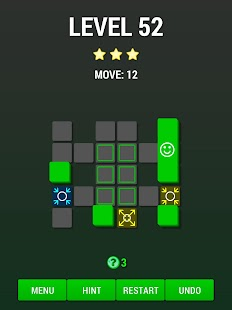 Move On Green: clever puzzle- screenshot thumbnail