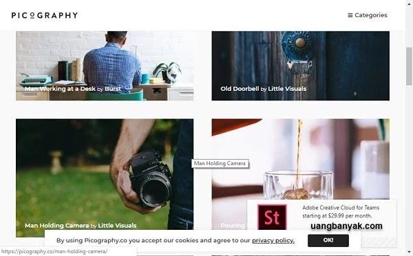penyedia gambar gratis picography untuk keperluan blogging