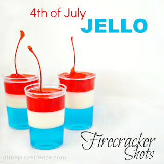 4th of July Jello Firecracker Shots!