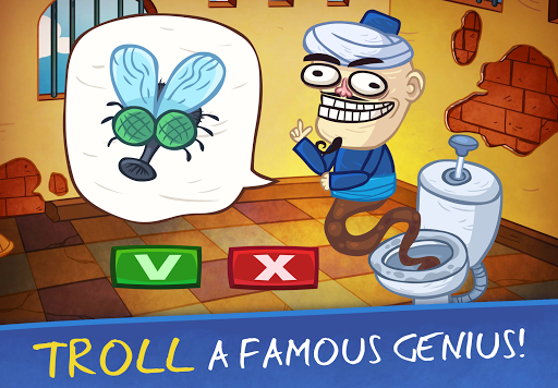 Troll Face Quest: Video Games 2 - Tricky Puzzle 1.6.0 screenshots 1