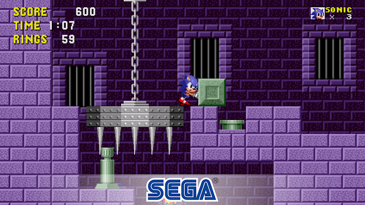 Sonic the Hedgehog- screenshot