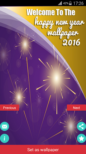 Happy New Year Wallpaper 2016