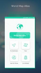 Offline World Map - náhled