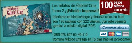 Clickea aquí para adquirir un ejemplar impreso de Los relatos de Gabriel Cruz Tomo 2