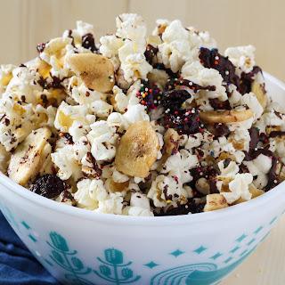Ice Cream Sundae Popcorn Mix