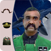 Abhinandan Mustache- Indian air force photo editor