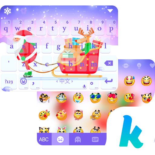Christmas Animated Kika Theme