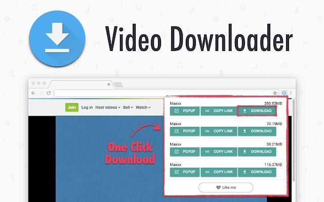 One-Click Video Downloader