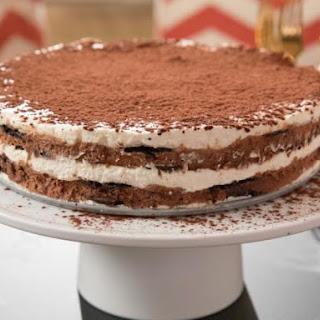 Tiramisu Icebox Torta.