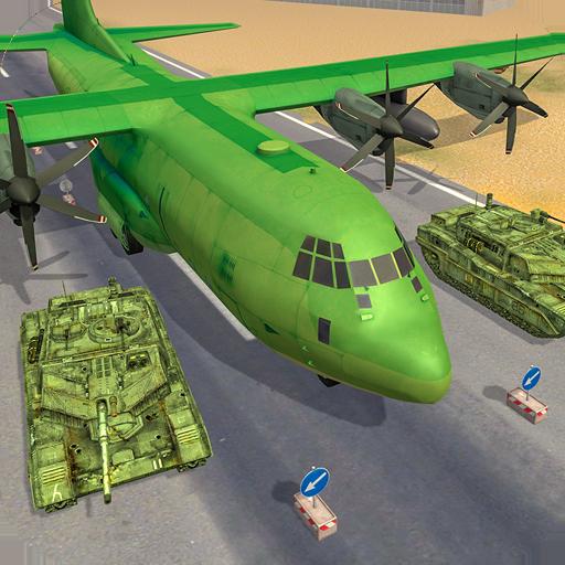 US Army Cargo Plane Tank Transporter Games