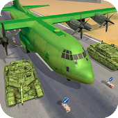 US Army Cargo Plane Tank Transporter Games