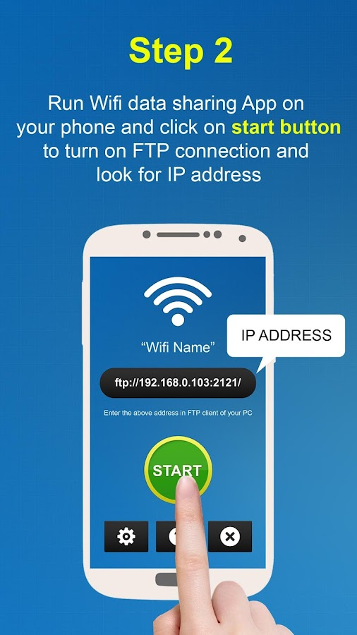 WiFi File Transfer - FTP- screenshot