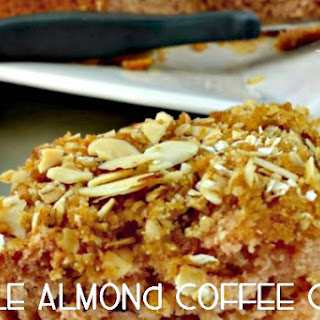 Apple Almond Coffee Cake