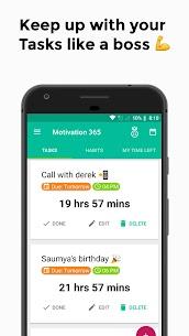 Motivation 365 : Daily Motivation & inspiration – Android Mod + APK + Data 2