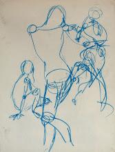 Photo: gesture drawing1 // ~10 seconds per gesture
