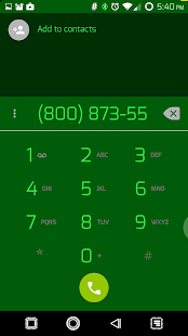 PCB Green ⁞ CM13 Theme- screenshot thumbnail