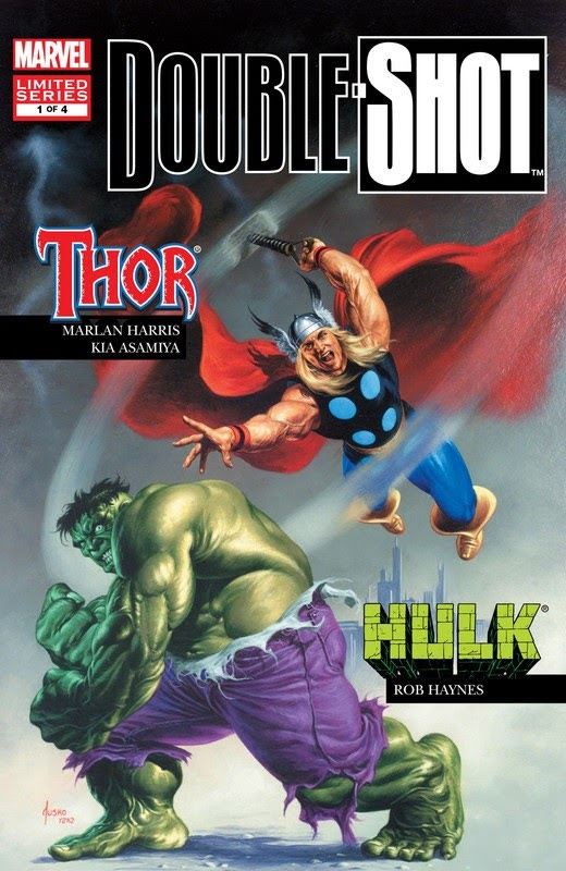 Marvel Double Shot (2003) - complete