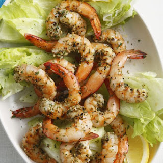 Stir-fry Salt and Pepper Shrimp.