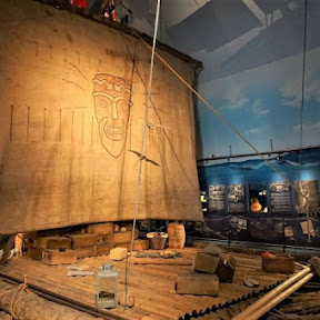 ノルウェーの首都オスロにある冒険心くすぐる博物館「コンチキ号博物館」