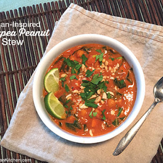 African-Inspired Chickpea Peanut Stew