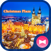 خلفيات وأيقونات Christmas Plaza APK