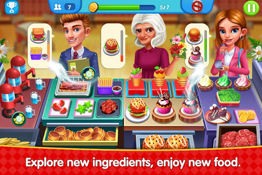 Cooking Square Food Street modavailable screenshots 7